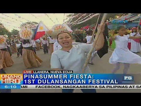 Unang Hirit: 1st Dulansangan Festival ng Llanera, Nueva Ecija
