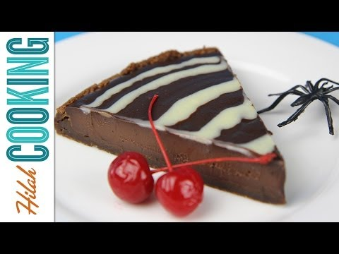 How to Make Chocolate Tart with Gingersnap Crust | Hilah Cooking