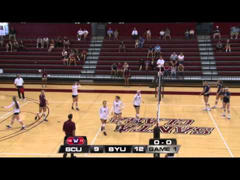 #10 BYU at SCU Women's Volleyball 2015