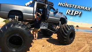 FlatNasty SENDS! We ride in MonsterMax! Rick breaks a RZR Turbo S!