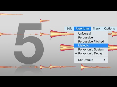 Melodyne 5: The ideal algorithm for each track