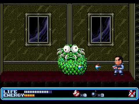Ghostbusters Sega Genesis Gameplay Youtube