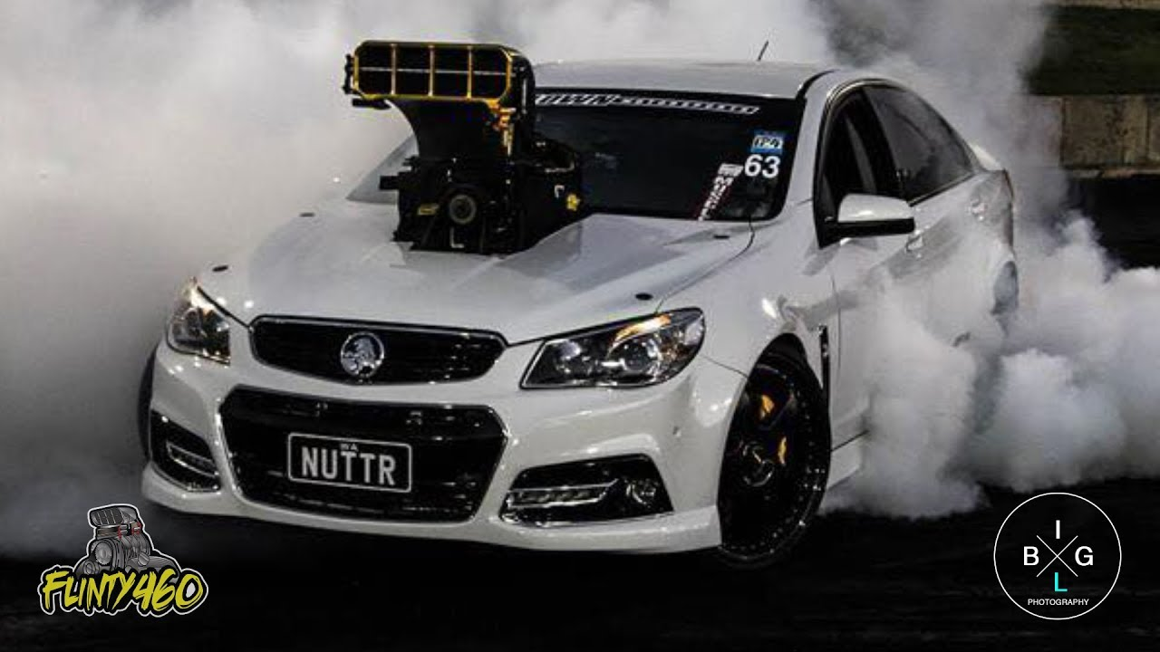 nuttr psi blown vf commodore burnout debut youtube