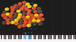 How to play Pieces by Red on Piano Sheet Music
