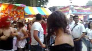 Carnaval coacoatzintla 2009- las rambas coon batukada no podian faltar!!(solo en Coacoatzintla)