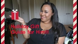 Holiday Gift Guide for Him 2015!