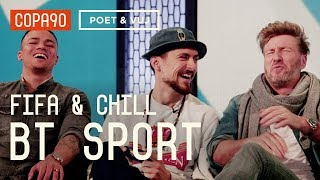 FIFA and Chill with Robbie Savage, Jermaine Jenas and Chris Sutton | Poet and Vuj Present!