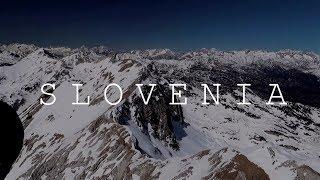 Фееричный полет на параплане в Альпах Словении