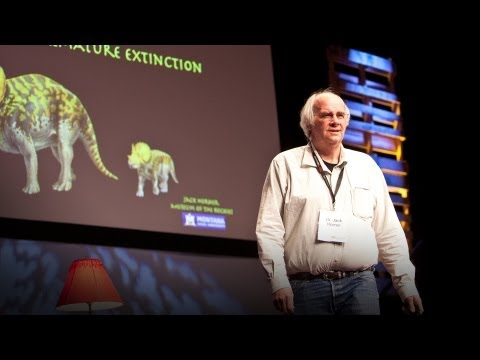 Jack Horner: Shape Shifting Dinosaurs [video]