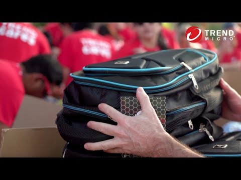 Trend Micro Gives Back - 2019 Global Service Project
