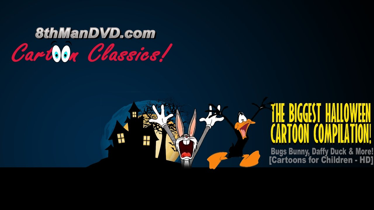 biggest halloween cartoon compilation: looney tunes, mickey mouse