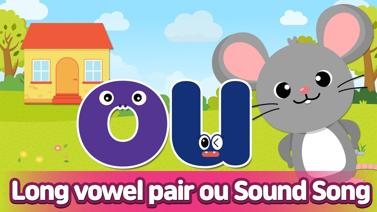 Download Long vowel pair OU Sound Song l Phonics for English Education