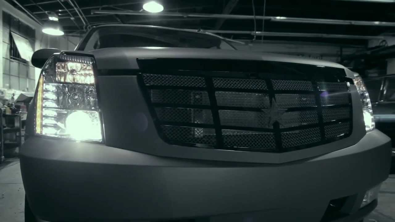 Matte Grey Cadillac Escalade By Roadstarr Motorsports