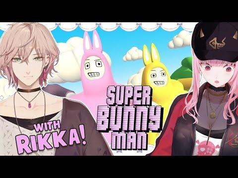【SUPER BUNNY MAN COLLAB】Usagi Madness with Rikka Senpai! 8} #HololiveEnglish #holomyth