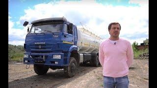 Видео-обзор автоцистерны АЦН-20 КАМАЗ 6522