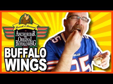 Buffalo Chicken Wings from The Anchor Bar, Buffalo NY | KBDProductionsTV