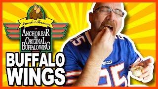 Buffalo Chicken Wings from The Anchor Bar, Buffalo NY