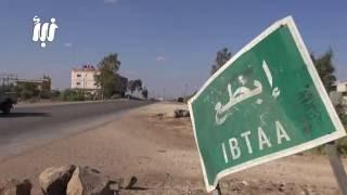 كاميرا نبأ ترصد قصف الطيران الحربي والإشتباكات على اطراف بلدة ابطع