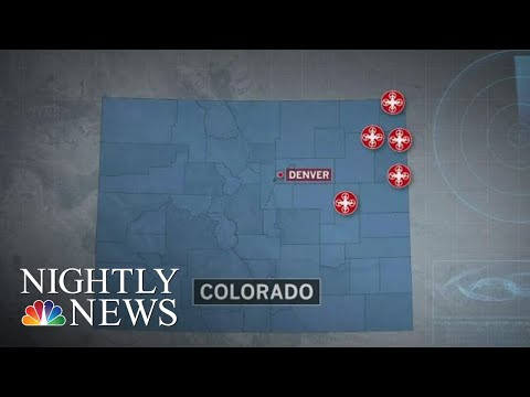 Growing Mystery As Unidentified Drones Spotted In Colorado Skies | NBC Nightly News