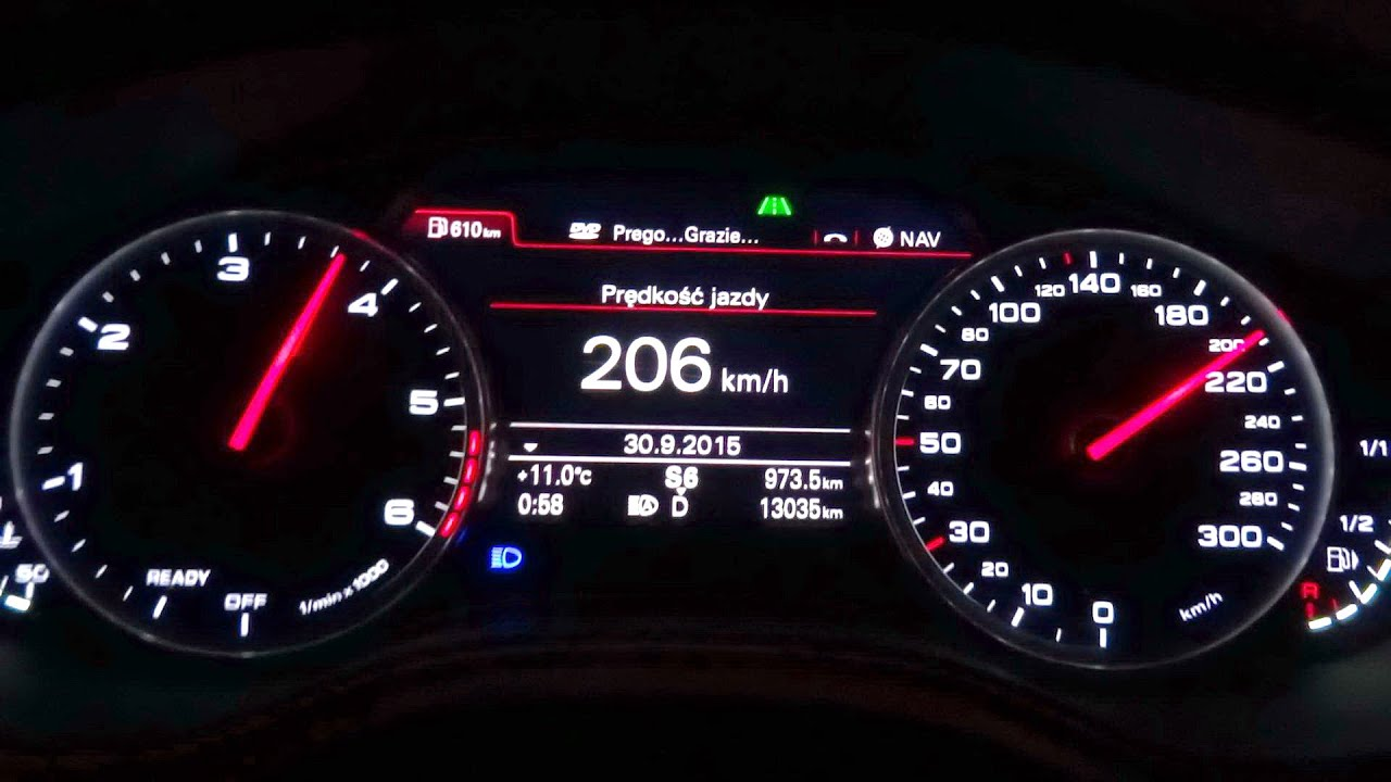 2016 audi a6 quattro biturbo 3 0 tdi 320hp 650nm acceleration test 0 200 km h 0 100 0 60 mph. Black Bedroom Furniture Sets. Home Design Ideas