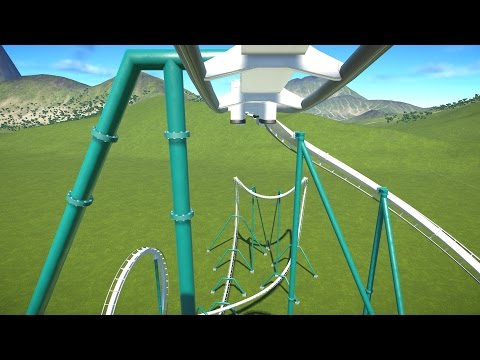 Alpengeist (Recreation) POV - Planet Coaster Inverted B&M