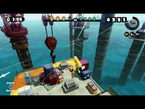 SALTSPRAY RIG ~ SPLAT ROLLER 4 ~ GLOBAL TESTFIRE 2016 ~ SPLATOON - No Commentary