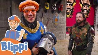 Blippi Explores a Castle + More Blippi Videos For Kids | Educational Videos For Kids