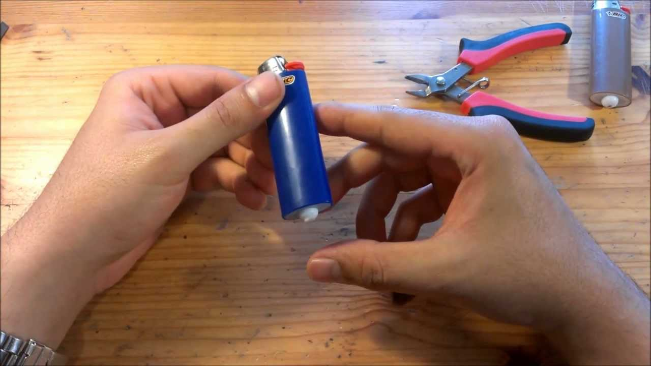 How to Refill a BIC Lighter