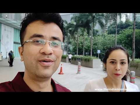 India to Malaysia Budget Trip Air Asia X (Cheap Accommodation,Grab Taxi) Delhi to Kuala Lumpur-Hindi
