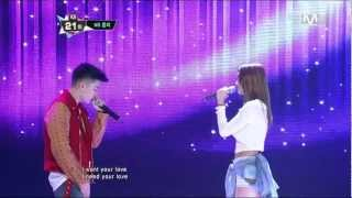 121213 NS Yoon G - If You Love Me (Feat. 박재범)