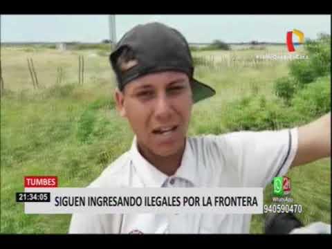 Continúan ingresando ilegales en la frontera Perú-Ecuador