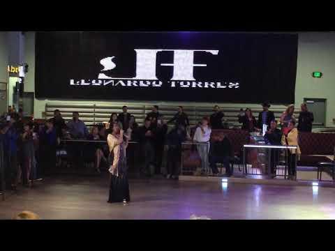Graciela Beltran en la presentación del Disco de Leonardo Torres