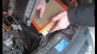 Замена воздушного фильтра двигателя на ВАЗ - Lada Granta