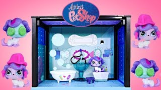 Play Doh Spa Littlest Pet Shop 35 Piece Say Ahh To The Spa Zoe Trent Customizable LPS Toys DCTC
