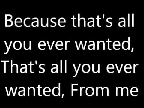 Hunter Hayes All You Ever Lyrics