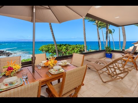 G206 Makena Surf Maui Hawaii Oceanfront Vacation Rental