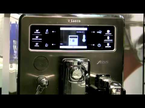philips saeco xelsis espresso machine overview youtube. Black Bedroom Furniture Sets. Home Design Ideas