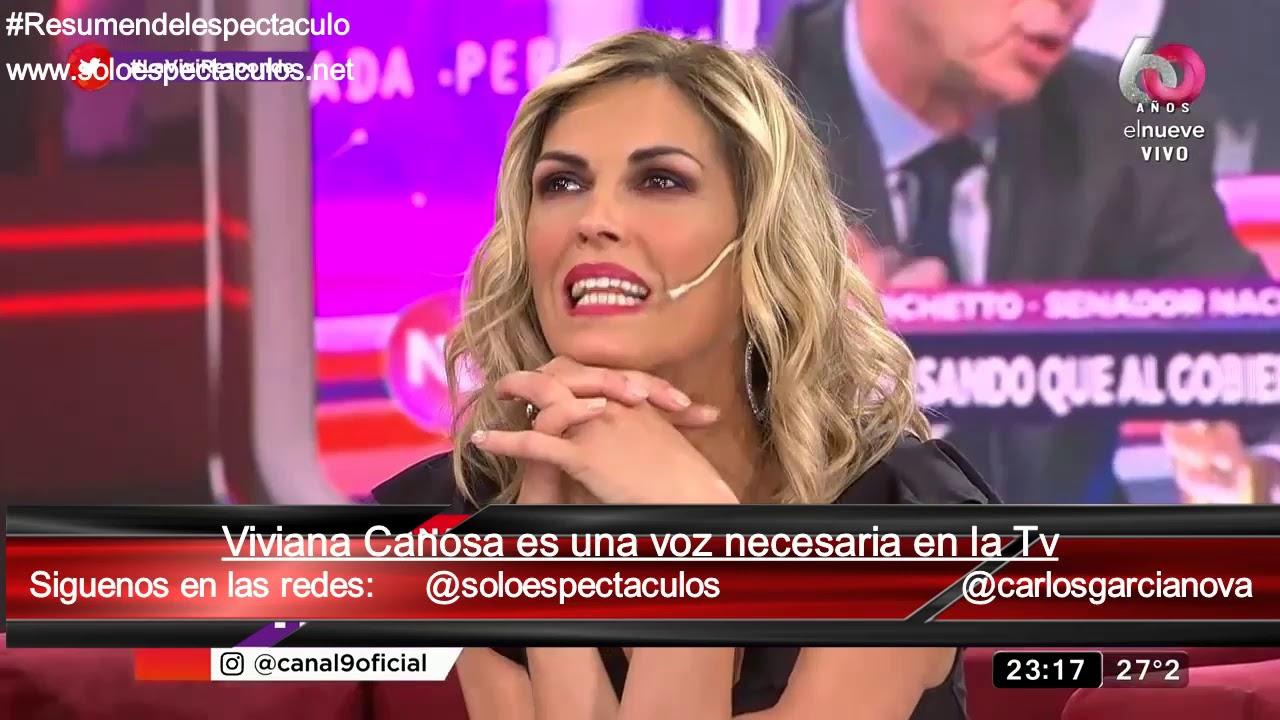 Viviana Canosa una voz necesaria en la Tv / La despedida de Nada Personal