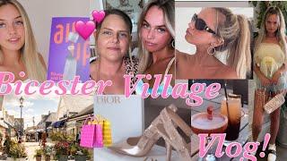 WEEKEND TRIP To Bicester Village Vlog!👸🏼 + Testing Air Up / ad💕