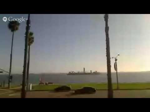 Live Ocean View - Long Beach Harbor Port - Ocean Blvd