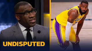 Skip & Shannon react to LeBron & Lakers upset loss to Dame's Blazers in Game 1   NBA   UNDISPUTED