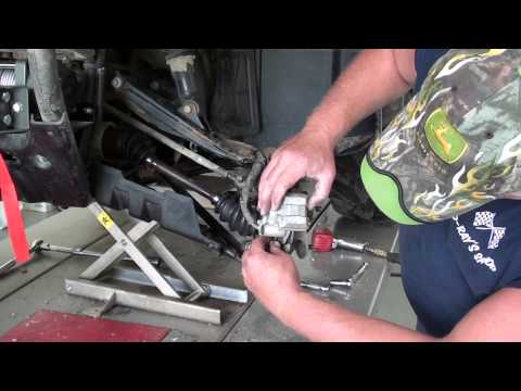 Pt.3 ATV CV Boot Replacement At D-Ray's Shop
