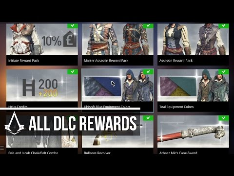 Assassin's Creed Syndicate - All Ubisoft Club Rewards DLC (Uplay Rewards) Free Content