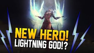 Vainglory News - NEW LIGHTNING HERO/ LYRA SKIN!?