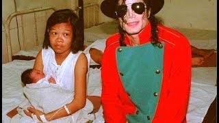 Michael Jackson visits an Hospital in Manila, December 1996 - MJ visita un ospedale a Manila