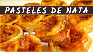 Receta de los pasteles de nata portugueses (Pasteis de nata)