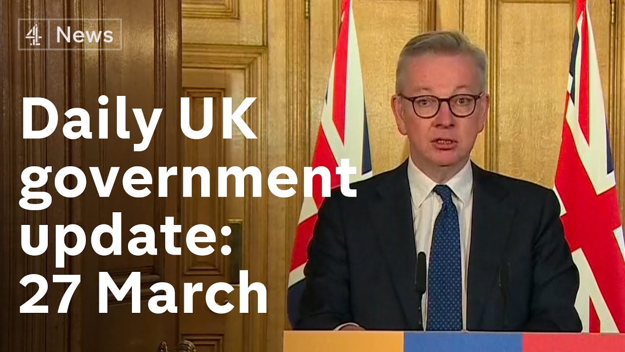 UK infections doubling every three to four days, says Michael Gove