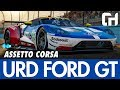 URD Ford GT Mod for Assetto Corsa Review [URD EGT - GTE]