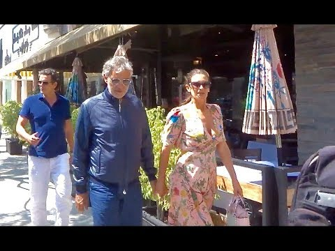 Andrea Bocelli with his beautiful wife talks about his favorite SONGS!!!
