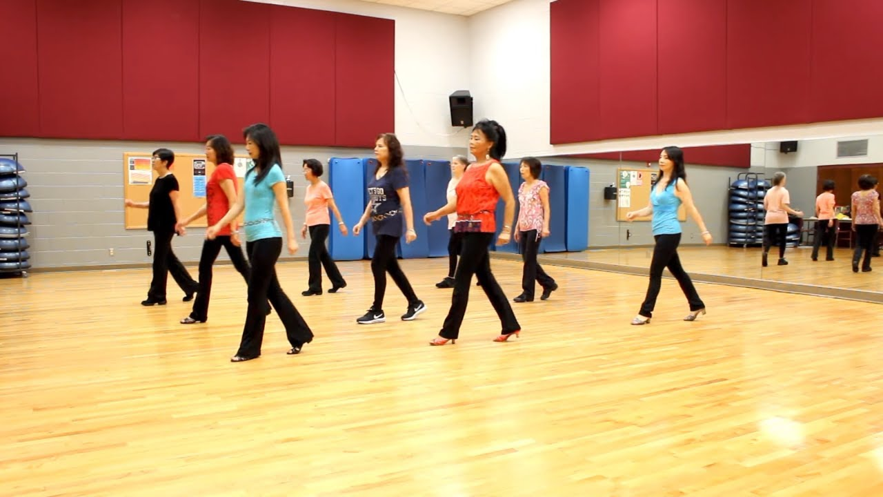 Crazy Perfect Mess - Line Dance (Dance & Teach in English & 中文) - YouTube
